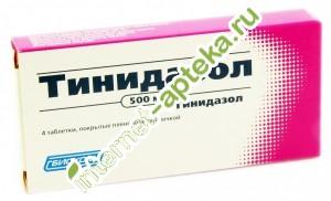 Инструкция по применению тинидазола