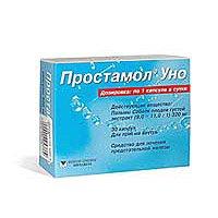 Таблетки 320 мг простамол уно: инструкция, цена и отзывы