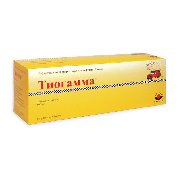 Тиогамма: инструкция по применению и для чего он нужен, цена, отзывы, аналоги