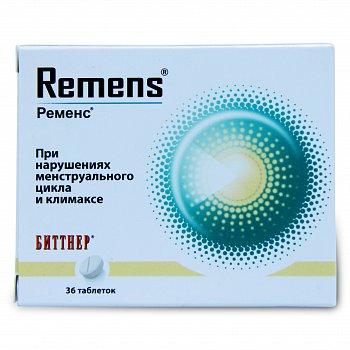 Ременс: инструкция по применению, аналоги и отзывы, цены в аптеках россии