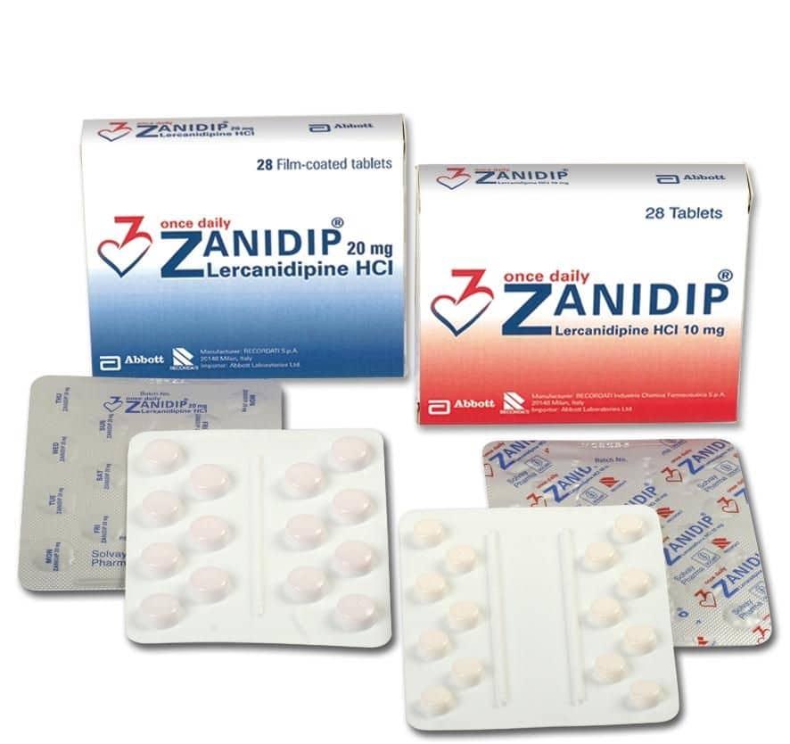 Инструкция по применению препарата занидип — при каком давлении и как принимать?