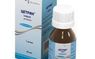 Таблетки и сироп цетрин: инструкция, цена и отзывы