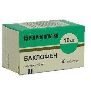 Баклофен - инструкция, применение, отзывы