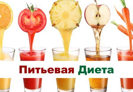 Питьевая диета: отзывы, фото до и после