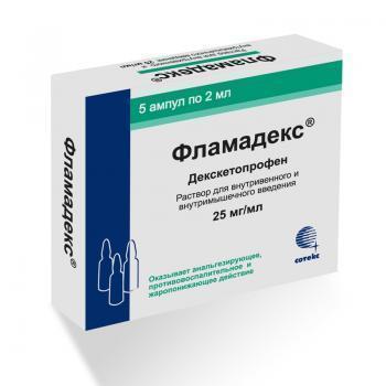 Инструкция по применению препарата фламадекс