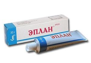 Эплан (крем, мазь) — отзывы, цена, аналоги
