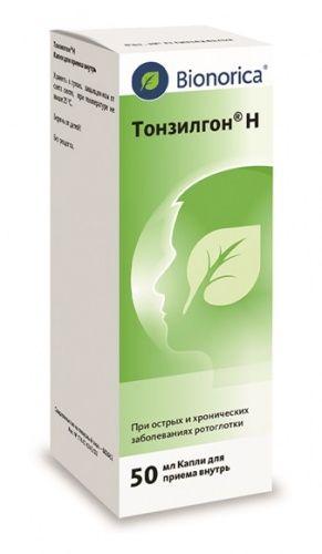 Тонзилгон н (капли, таблетки): инструкция по применению для детей и для чего он нужен, аналоги, отзывы, цена