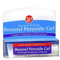 Бензоил пероксид в составе препаратов от прыщей