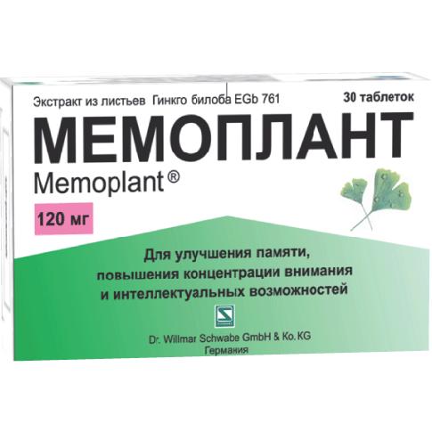 Мемоплант: инструкция по применению, аналоги, цена и отзывы