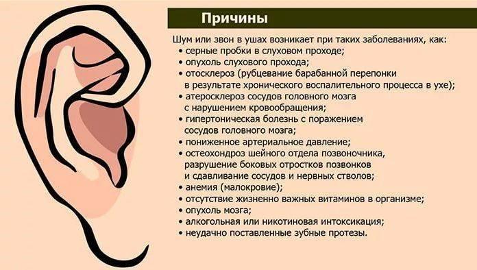 Почему пульсация в ухе без боли? причины и лечение симптома болезни