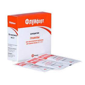 Препарат от кашля флуифорт для детей и взрослых - состав и форма выпуска, дозировка и противопоказания