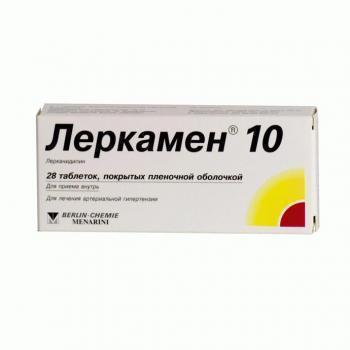 Таблетки 10 мг и 20 мг лерканидипин: инструкция по применению