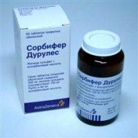 Сорбифер дурулес – инструкция по применению таблеток, цена, отзывы