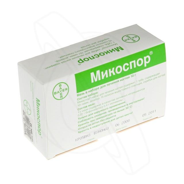 Микоспор от грибка