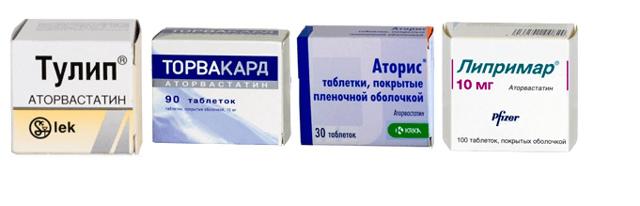 Инструкция по применению препарата аторвастатин