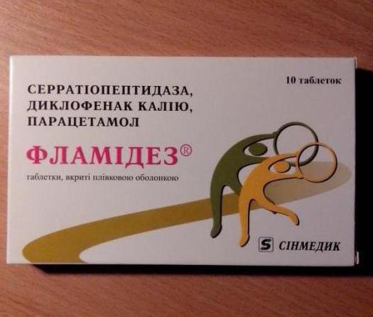 Фламидез - инструкция по применению