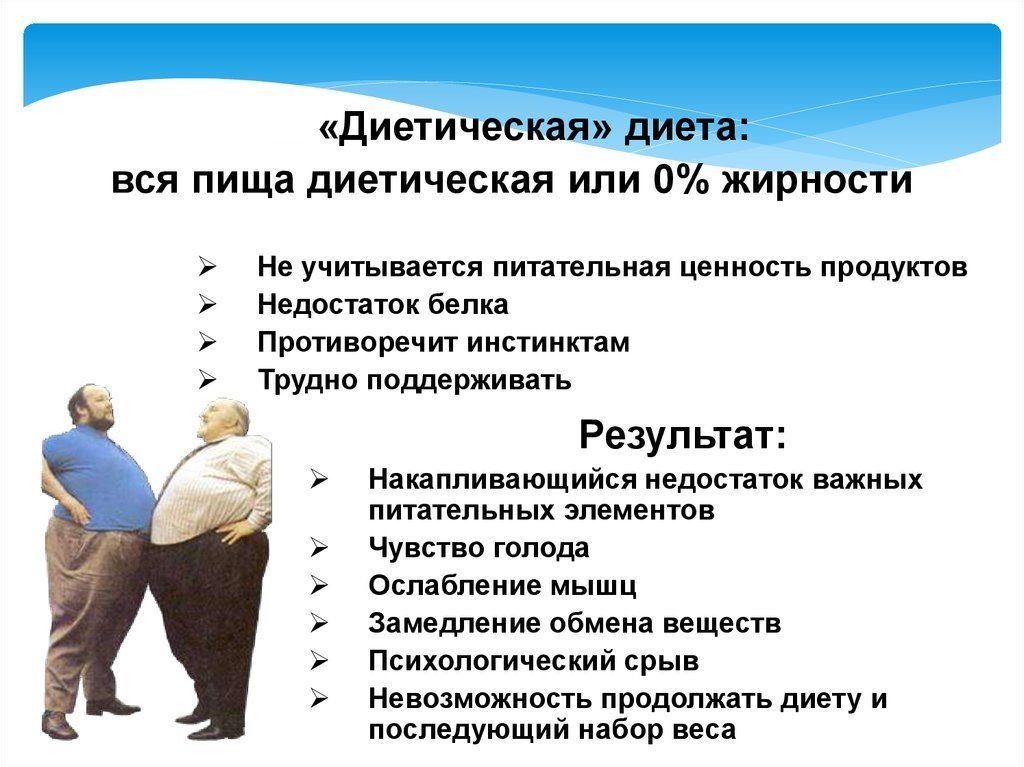 Минусы Низкожировых Диет. Низкожировые диеты