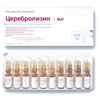 Уколы церебролизин: инструкция, цены и отзывы