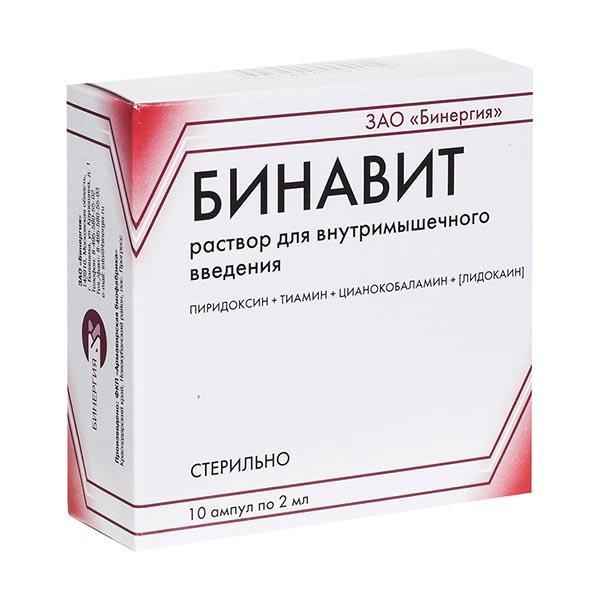 Инструкция по применению препарата бинавит