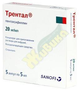 Трентал (пентоксифиллин) при грыже позвоночника: механизм воздействия на боль