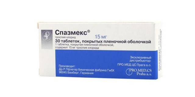 Спазмекс(троспия хлорид* (trospium chloride*), spasmex)