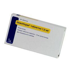 Гипогликемический препарат новонорм — инструкция по применению
