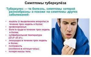 Туберкулез у взрослых: симптомы, первые признаки                                                                               22331                                                                   0