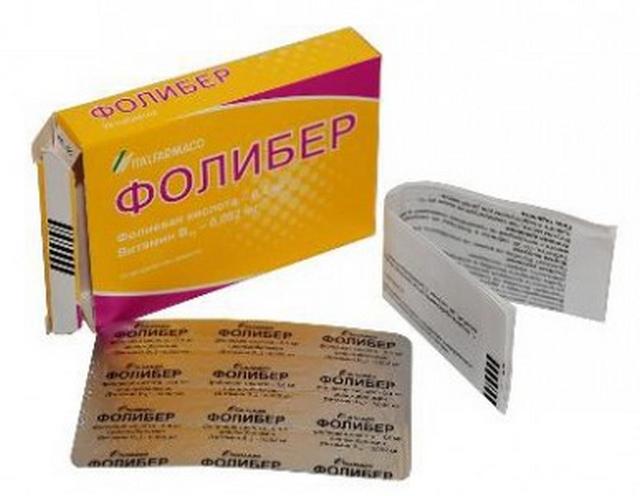 Фолибер (foliber) – инструкция по применению