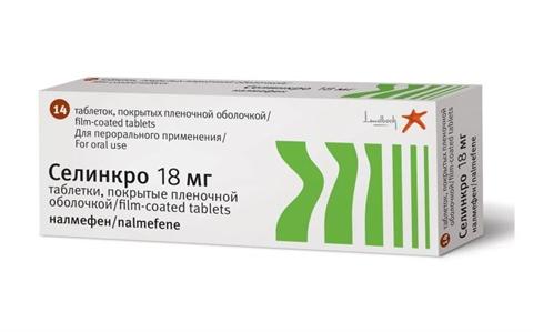 Препарат селинкро для лечения алкоголизма