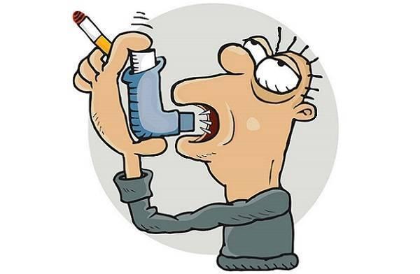 Последствия от курения при астме