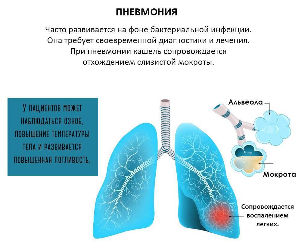 Чем бронхит отличается от пневмонии: в чём разница?