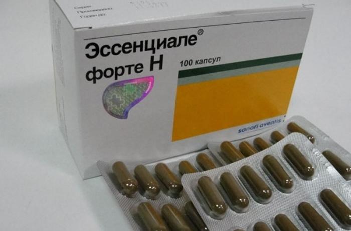 Применение эссенциальных фосфолипидов для восстановления работы печени