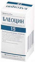 Блеомицин: инструкция по применению, стоимость и аналоги препарата