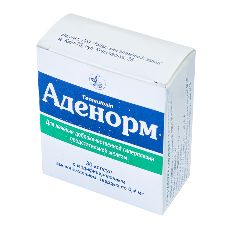 Аденорм - инструкция и цена