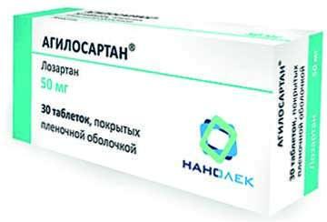 Препараты сартаны для лечения артериальной гипертензии