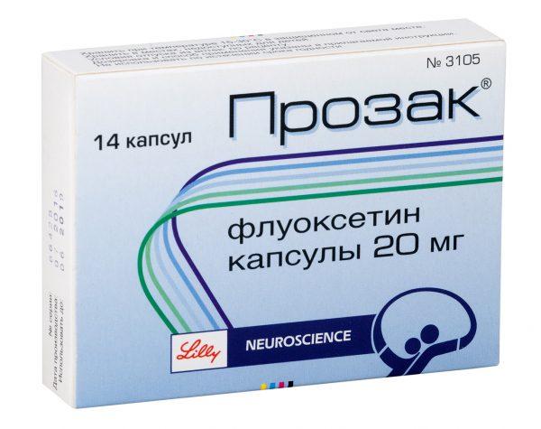 Применение флуоксетина