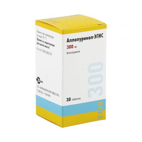 Аллопуринол эгис: для чего применяется, фармакологическое действие, цена