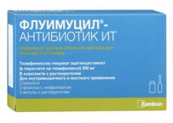 Флуимуцил-антибиотик ит для ингаляций – когда и как правильно применять лекарство?