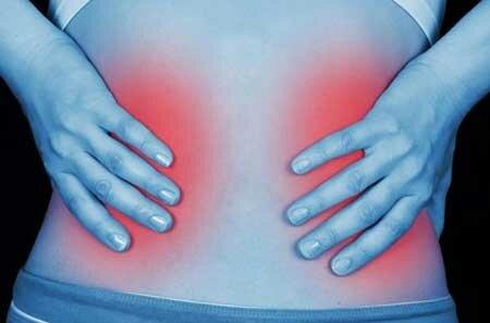 Одна из причин боли в спине — нефроптоз почки