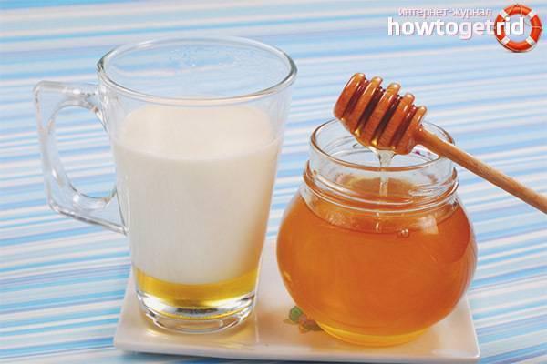 Самые простые и эффективные рецепты с молоком и медом от кашля