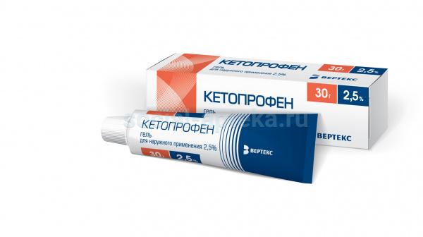 Кетопрофен врамед гель: инструкция к препарату