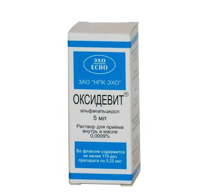 Препарат оксидевит: инструкция по применению и аналоги