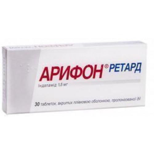 Арифон – инструкция по применению, отзывы, цена, аналоги таблеток