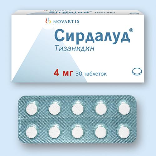 Сирдалуд: инструкция по применению (таблетки и капсулы)