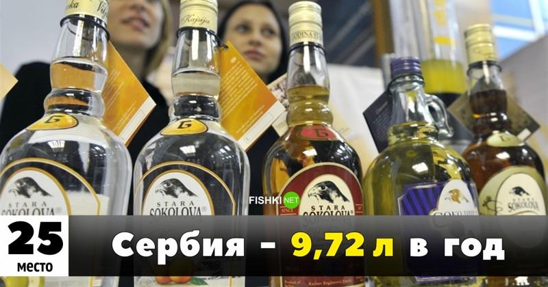 Рейтинг самых пьющих стран мира: на каком месте россия?