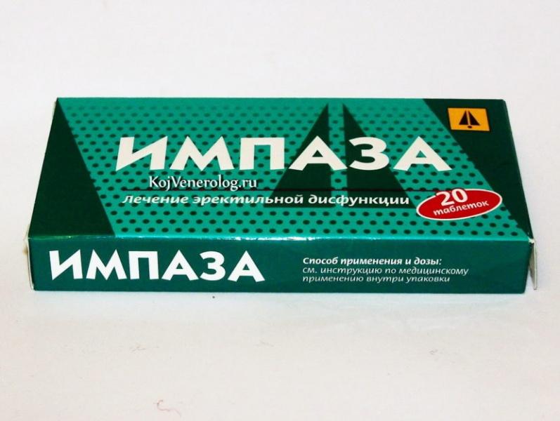 Импаза- инструкция по применению - средства для повышения потенции
