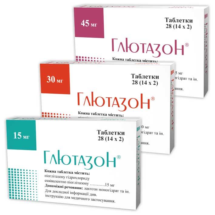 Препараты-глитазоны пиоглитазон, пиоглар, актос — инструкция по применению