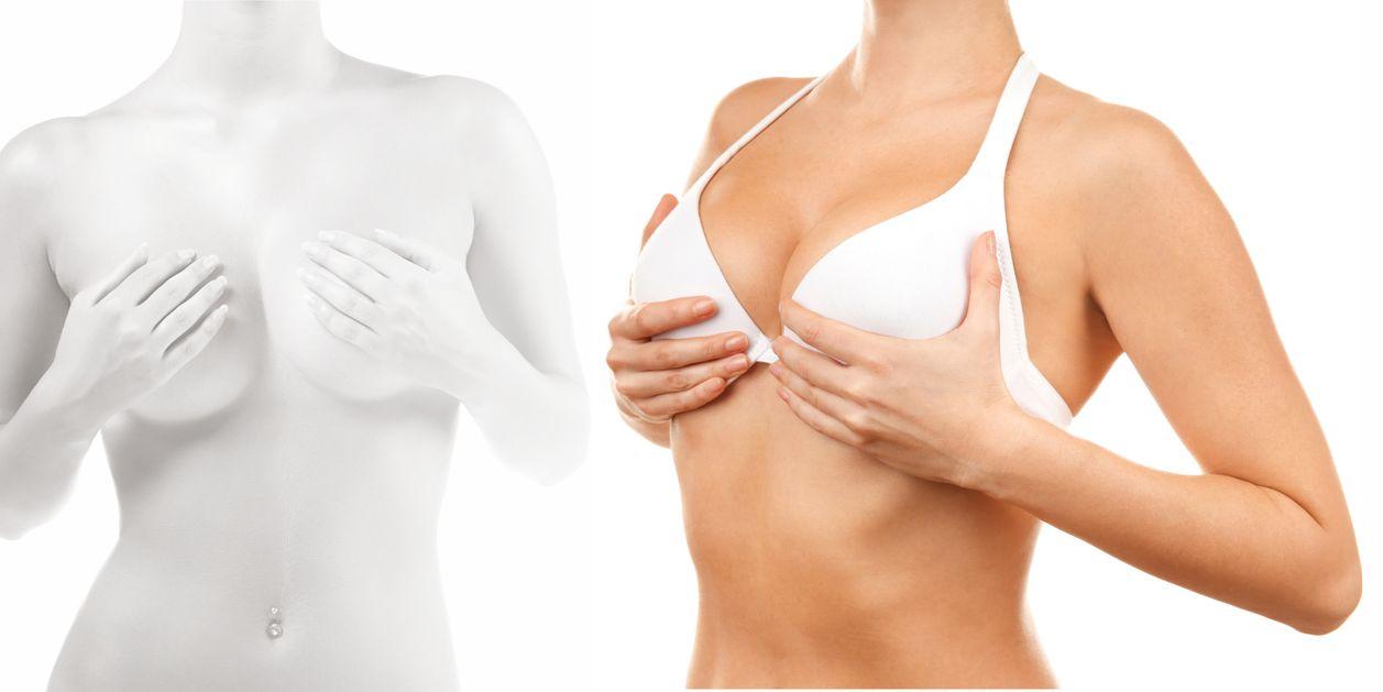 Как подтянуть обвисшую грудь у женщин быстро в домашних условиях