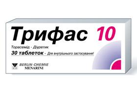 Инструкция по применению диуретика торасемид при высоком давлении и отеках различной этиологии