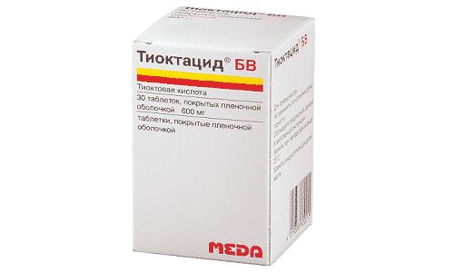 Таблетки липоевая кислота: инструкция по применению
